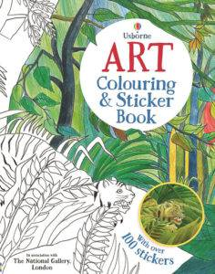 foto - Art Colouring and Sticker Book