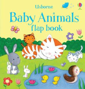 BABY ANIMALS FLAP BOOK (Usborne)