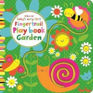 foto - Baby's very first fingertrail play book garden