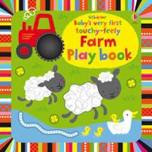 foto- Baby's very first touchy-feely farm play book
