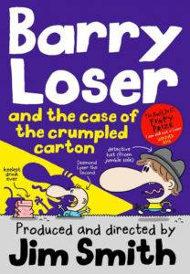 foto - Barry Loser and the Case of the Crumpled Carton