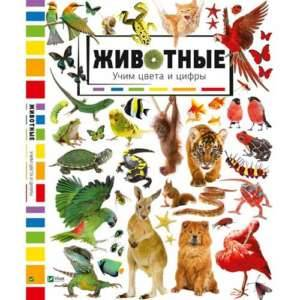 Животные-учим-цвета-и-цифры